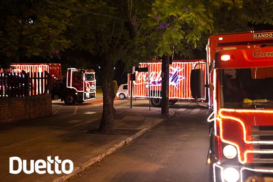 Caravana Coca-Cola, coca-cola, duetto, jobs, natal, Vonpar