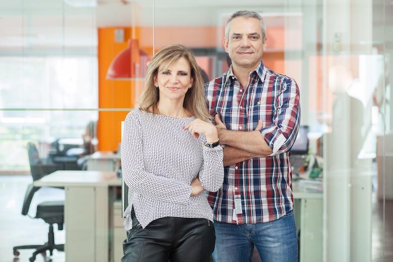 Rosângela e Roberto Rimoli fundadores da Duetto, agência de eventos de porto alegre rs